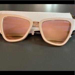 Quay Australia Reina Pearl Sunglasses.